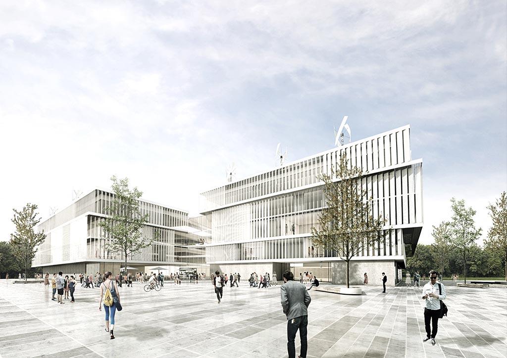 Aussenansicht Campus Kirchheim