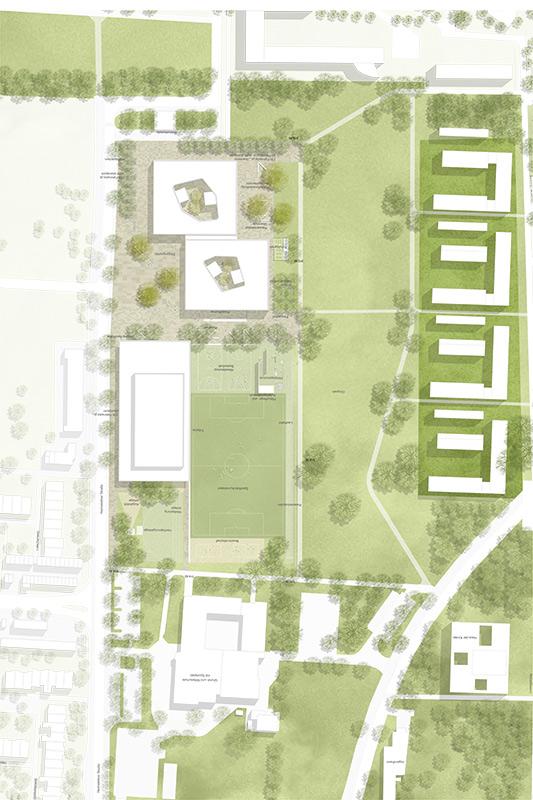 Campus Kirchheim Lageplan
