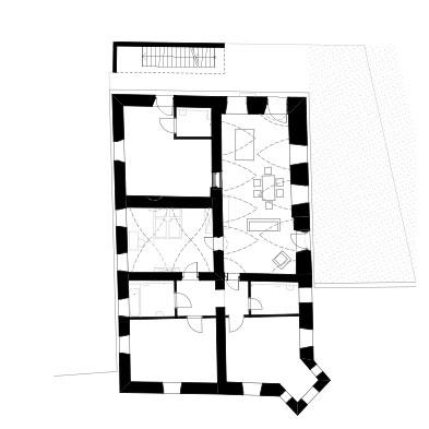 Vintlerhof Grundriss Obergeschoss