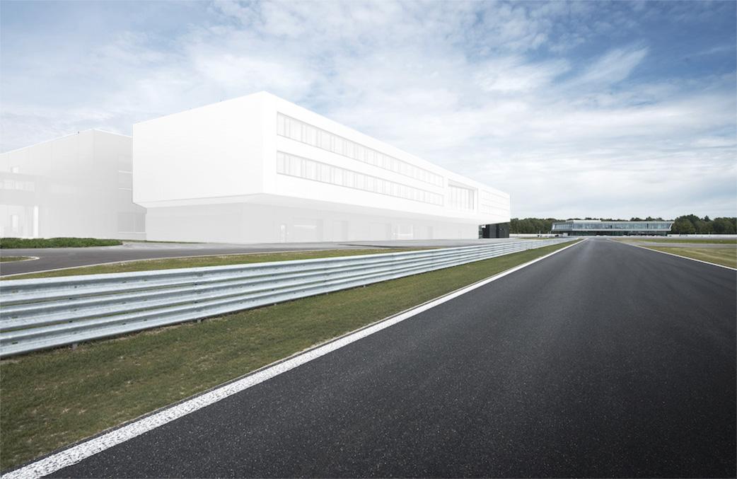 AUDI Aerodynamik Entwicklungszentrum