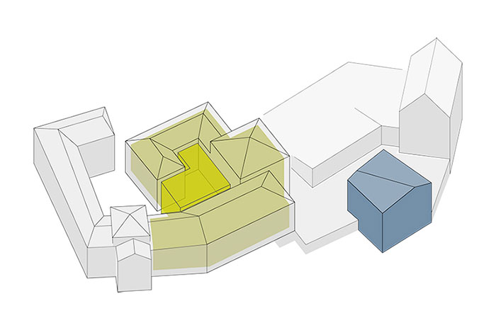 Alten- und Pflegewohnheim Modell