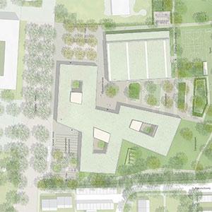 Grundschule mit Sporthalle Karlsfeld Beitragsbild