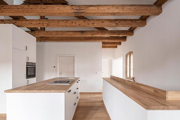 Gut Freiham Pferdestall Küche Stallmeisterwohnung