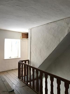 Gut Freiham Wirtschaft und Wohnungen Bild Treppenhaus