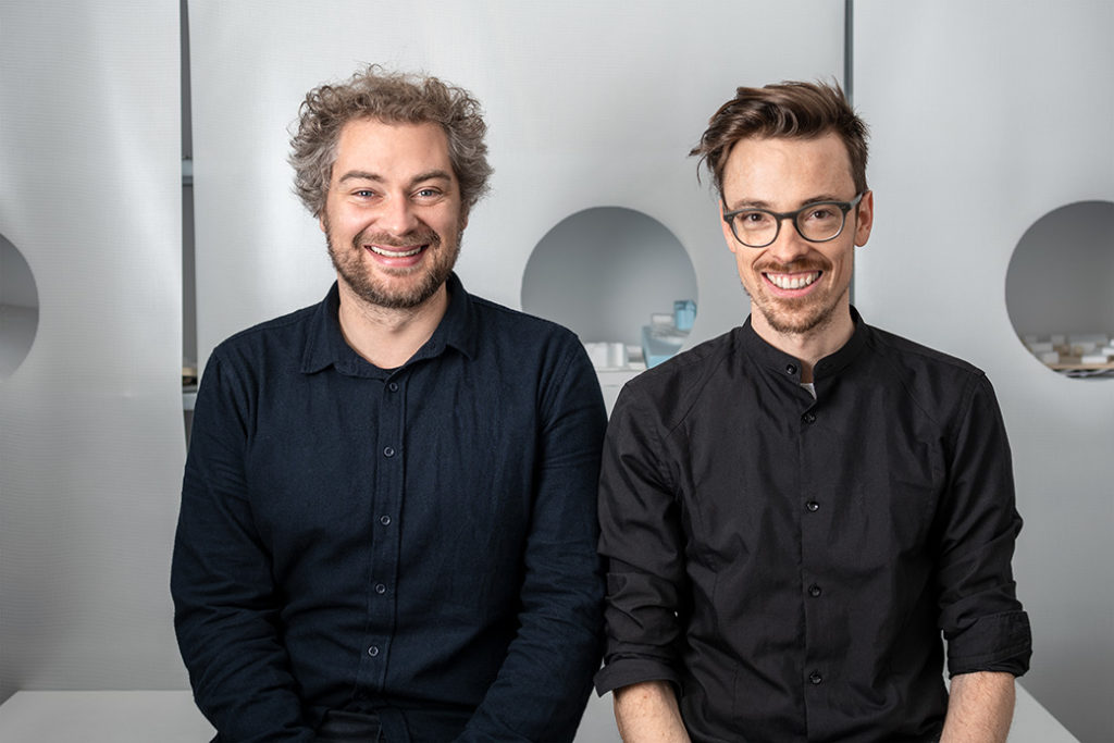 Alexander Herrle und Lukas Mahlknecht