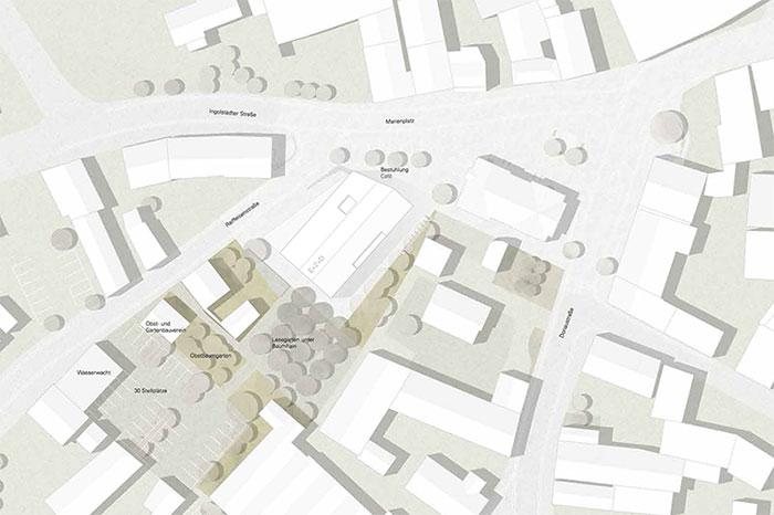 Rathaus Grossmehring Plan 1