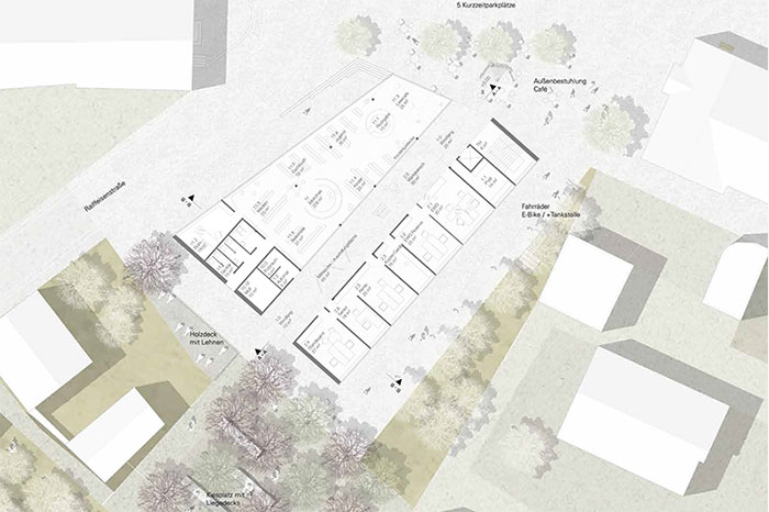 Rathaus Grossmehring Plan 2