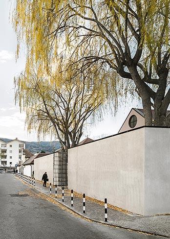 Urnenfriedhof Brixen von Aussen