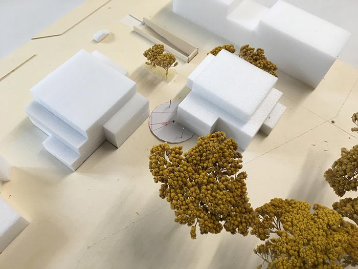 Wohnbebauung Eulertalstrasse ll Modell 2