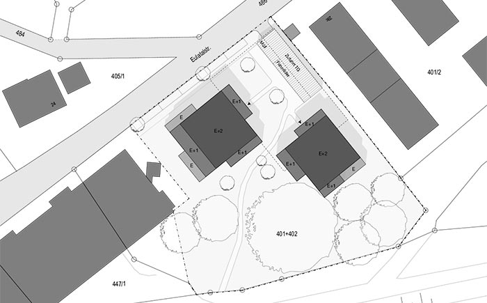 Wohnbebauung Eulertalstrasse Plan
