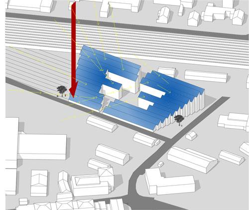 Kreativ Kraftwerk Lageplan Anlage